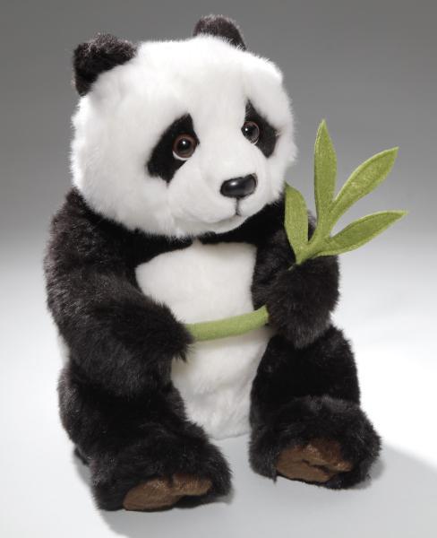 Panda Bär sitzend