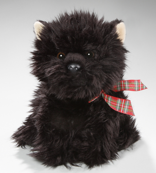 Scottish Terrier sitting