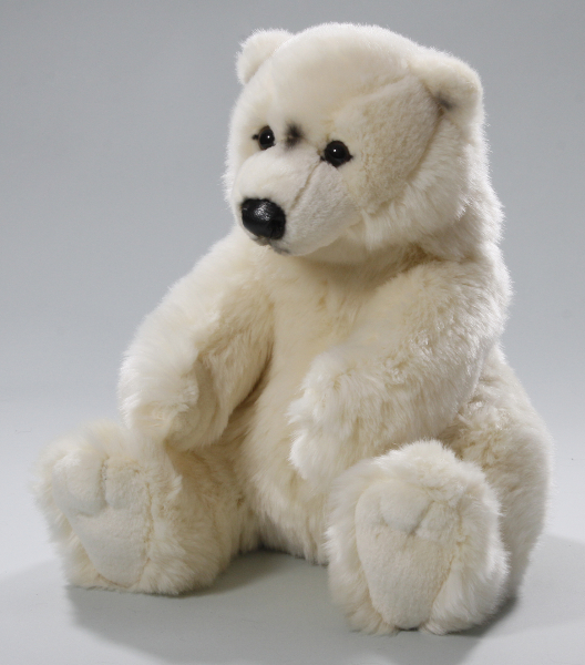 Polar Bear Ice Bear sitting