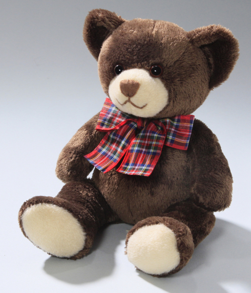 Teddy Bear with Bow dark-brown