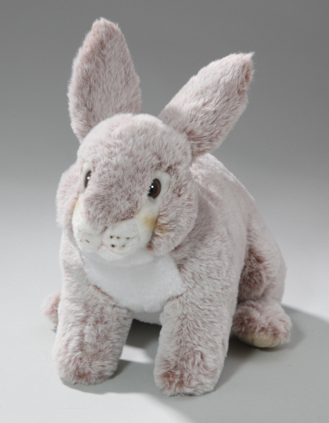 Rabbit Bunny with standing ears red-creme