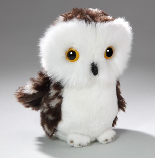 Owl brown-white