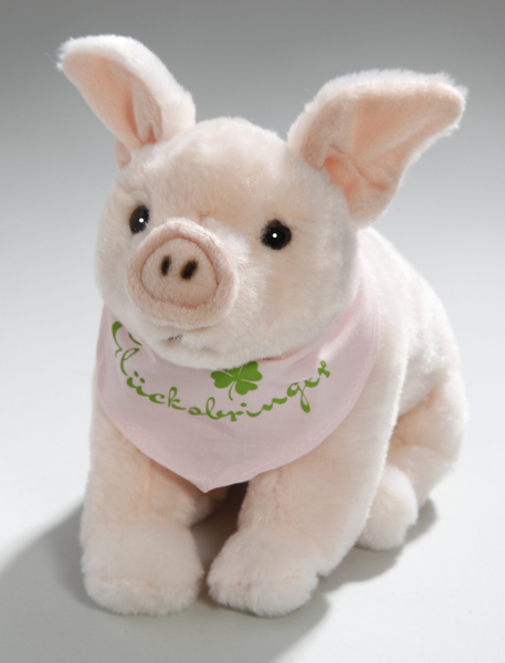Pig with scarf