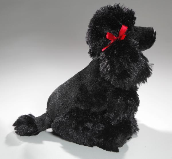 Poodle black - Plueschtier de