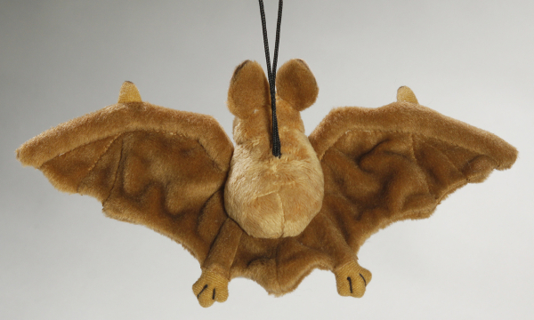Bat with Suction light brown
